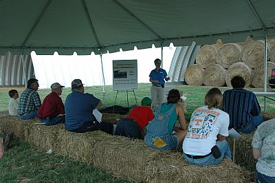 Participants at a Field Day event